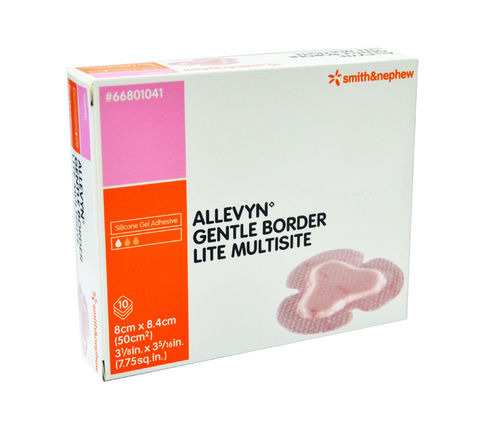 Allevyn Gentle Border Lite Multisite 8.4cm