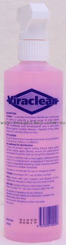 Viraclean Disinfectant Spray 500ml