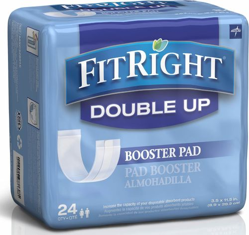 Fitright Double Up Booster Pad 9x29cm 450ml Pk24