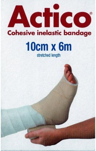 Actico Short Stretch Comp Bandage 10cmx6mt