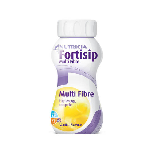 Fortisip Multi Fibre Strawberry 200mL Bottle Ea