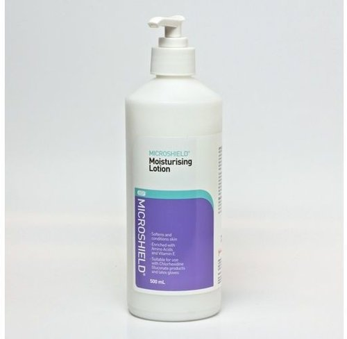 Microshield Moisture Lotion 500ml Pump Pack