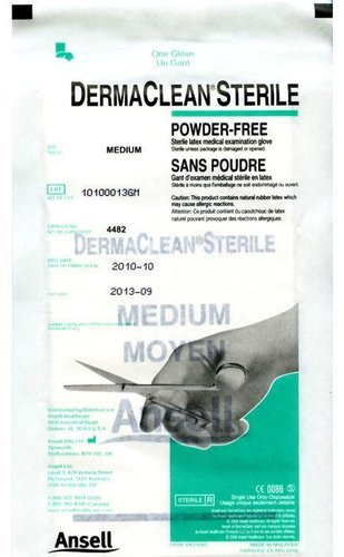Dermaclean Sterile Gloves Medium Bx100
