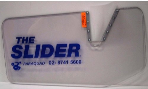 Slider With Cut-out Size A 645x360mm Blue