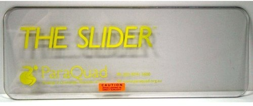 Slider without Cut-out Size D 608x226 yellow