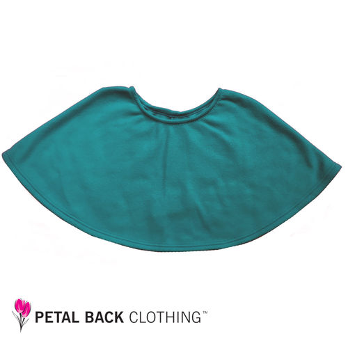 Polar Fleece Bed Poncho Peacock
