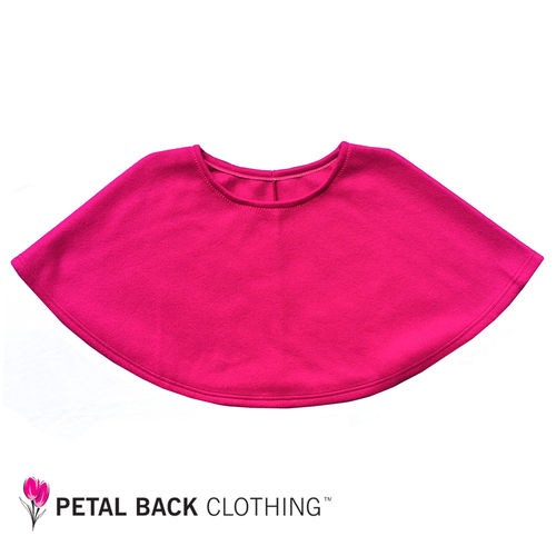 Polar Fleece Bed Poncho Fuschia