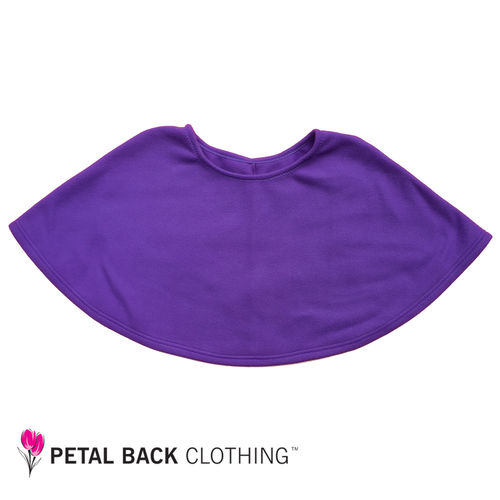 Polar Fleece Bed Poncho Purple