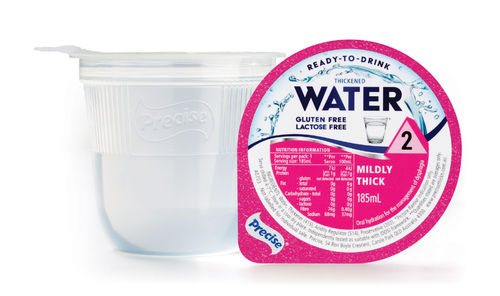Precise RTD Water Mildly Thick/Level 2 185ml