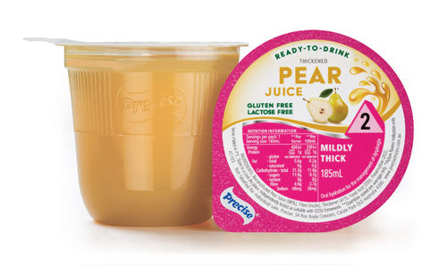 Precise RTD Pear Juice Mildly Thick/Lvl 2