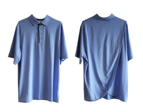 PB Men's Polo Short Sleeve Small Blue