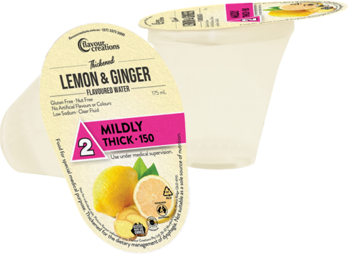 FC Lemon Ginger Water Mildly Thick-150/Level 2 175ml