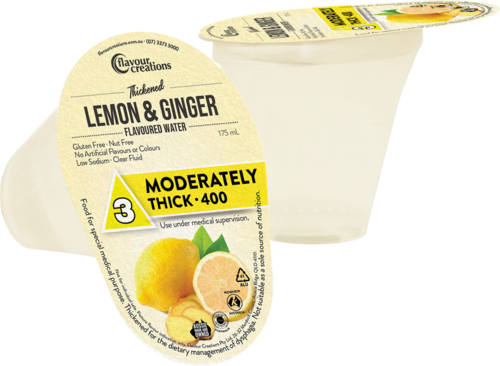 FC Lemon Ginger Water Moderately Thick-400/Level 3 175ml
