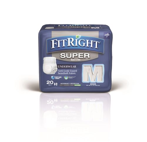 Fitright Super Disp P/Up Md 938mls  Pk20