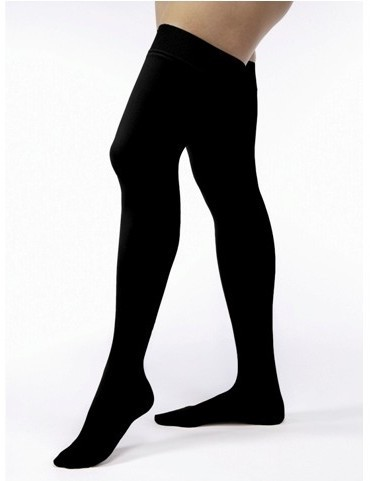 Jobst Hosiery Ultrasheer Thigh Lenght Black Small 15-20mmHg