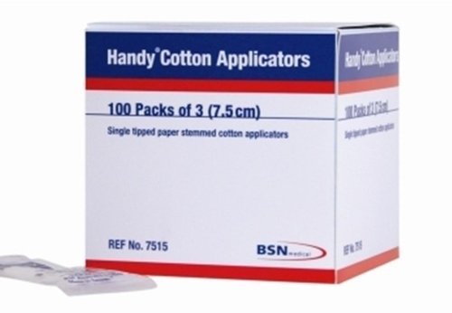 Cotton Tip Applicators Wooden Stem Pk3