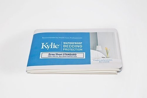 Kylie Draw Sheet Standard W/Proof 152x90cm