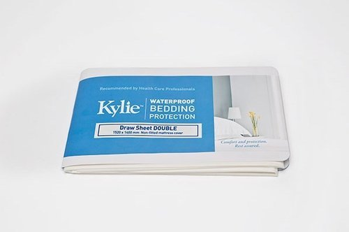 Kylie Draw Sheet W/Proof Double 140x152cm