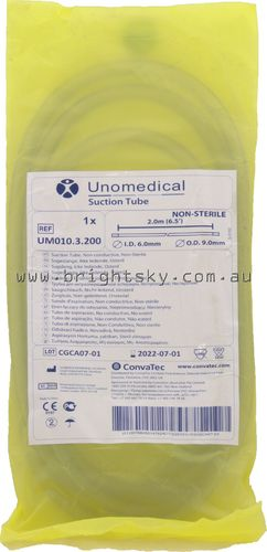 Unomedical Suction Tubing Non Sterile 2Mt