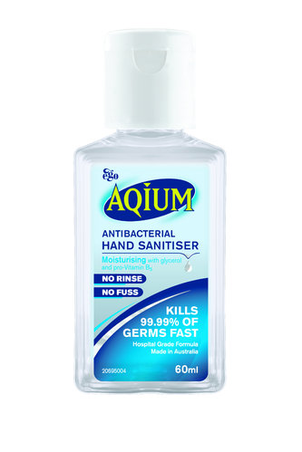 Aqium Antibacterial Hand Gel 70mL