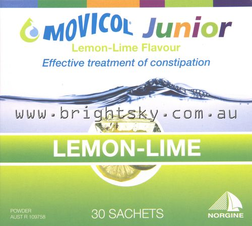 Movicol Half Sachet 6.9mg (Lemon/Lime) Pk30