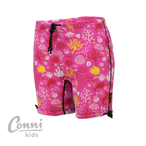 Conni Kids Containment Swim Short 2-4 Sunset Pink