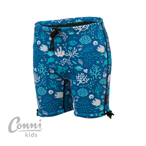 Conni Kids Containment Swim Short 10-12 Blue Ocean