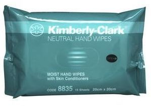 KC Neutral Hand Wipes 20x20cm Pk15