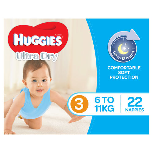 Huggies Crawler Boy 6-11kg Pk22