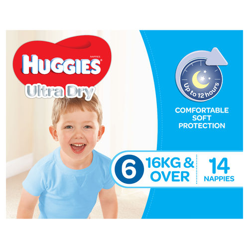 Huggies Junior Boy 16kg + Pk14