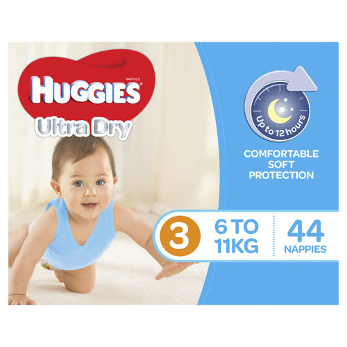 Huggies Nappies Crawler Boy Pk44
