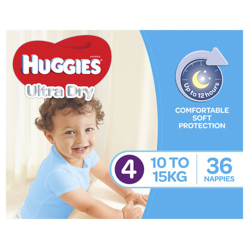 Huggies Nappies Toddler Boy Pk36
