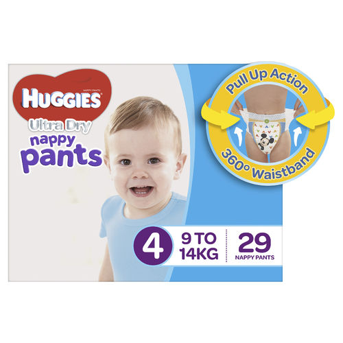 Huggies Nappy Pants Toddler Boy Pk29
