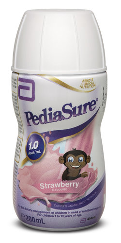 PediaSure Strawberry Bottle 200ml