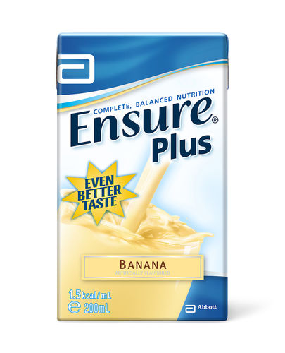 Ensure Plus Banana Tetrapak 200ml