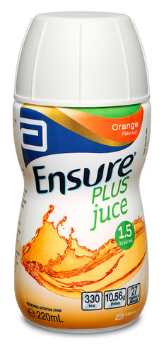 Ensure Plus Juce Orange 220ml Bottle
