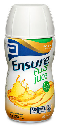 Ensure Plus Juce Apple 220ml Bottle