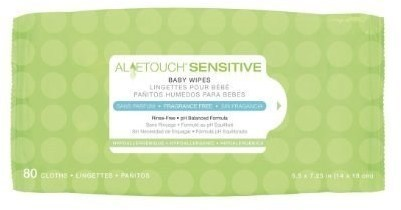 Aloetouch Personal Cleaning Cloths Scented Pk48