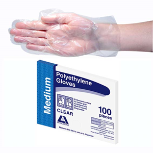 Livingstone N/S Polyethylene Gloves Medium