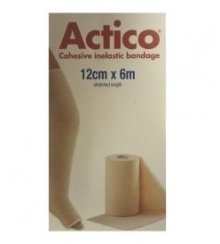 Actico Short Stretch Comp Bandage 12cmx6mt