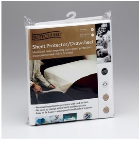 Protect A Bed Terry W/P Linen Protector Single