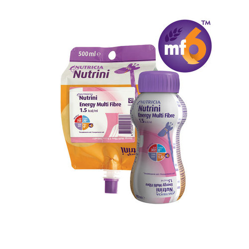 Nutrini Energy Multi Fibre 1-6yrs Ready to Hang 500ml