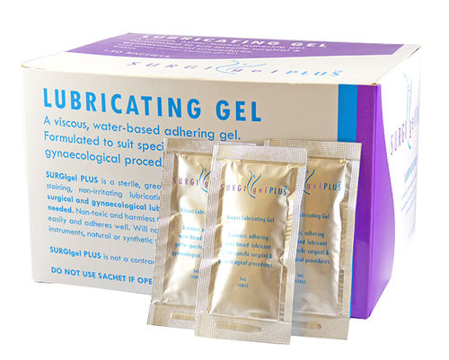 Surgigel Plus Lub Gel 3g Sachets