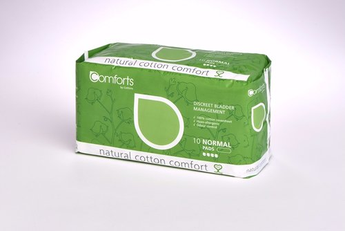 Comforts Normal Pads 10's 350ml