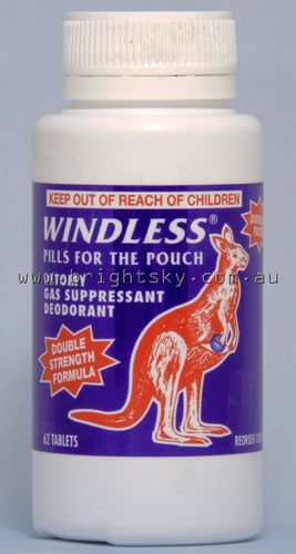 Dansac Windless Tablets Bottle 62