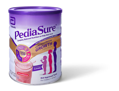 PediaSure Powder Strawberry 850g Can