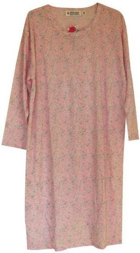 PB Nightie L/S Pink Flora XL