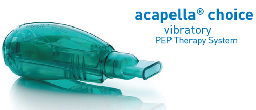 Acapella Choice Vibratory PEP Therapy System